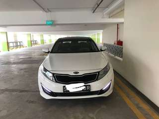 Kia Optima K5 2.0A with Sunroof