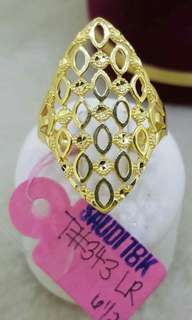 Ladies Ring Saudi 18K