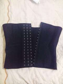 Slimming corset latex 9bone Small good as new 2weeks lang nagamit