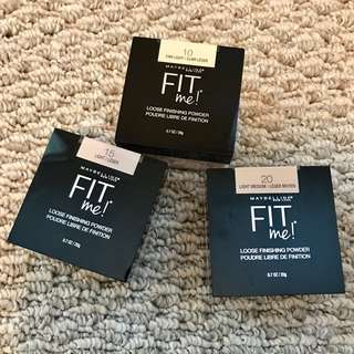 New Maybelline Fit Me Powder 碎粉