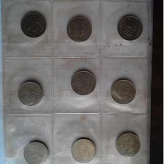 MYR $ 3 Mil Malaysian Old Coin