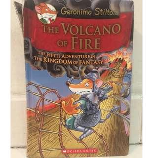 Geronimo Stilton The Kingdom of Fantasy - Book 5 : The Volcano of Fire