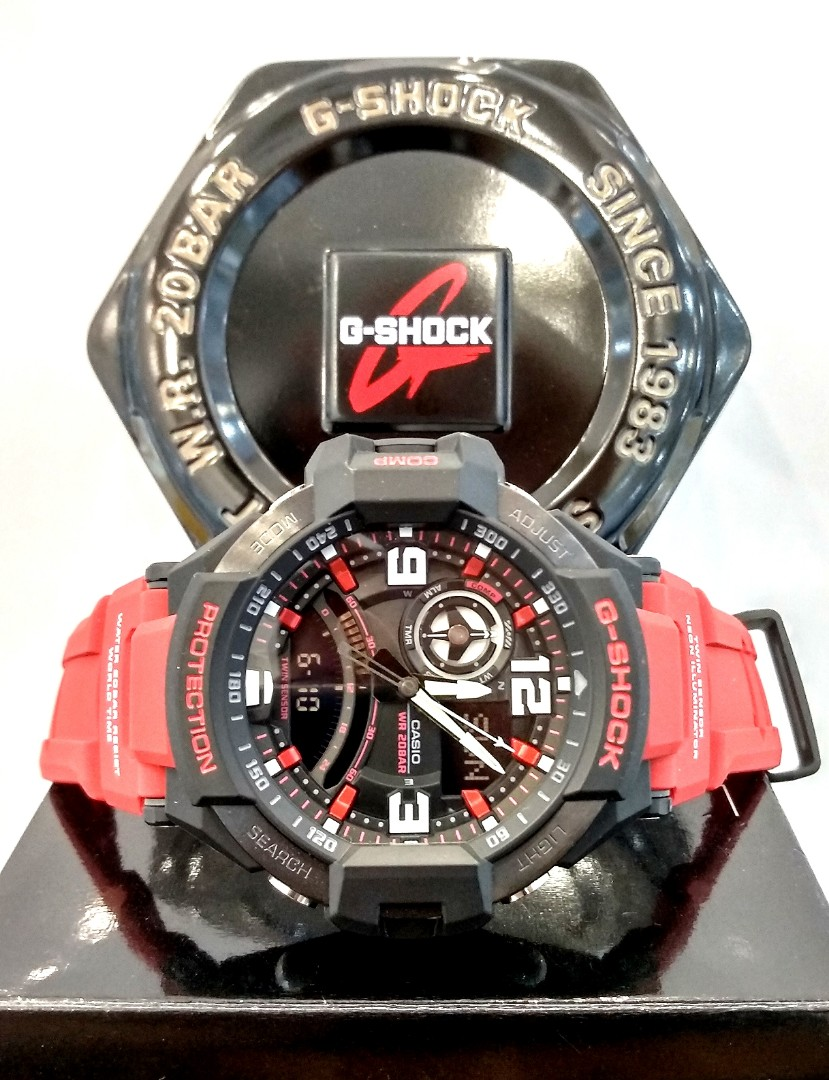 Free Delivery Brand New 100 Authentic Casio Gshock Gravity Master G Shock Gst 200cp 2a Photo