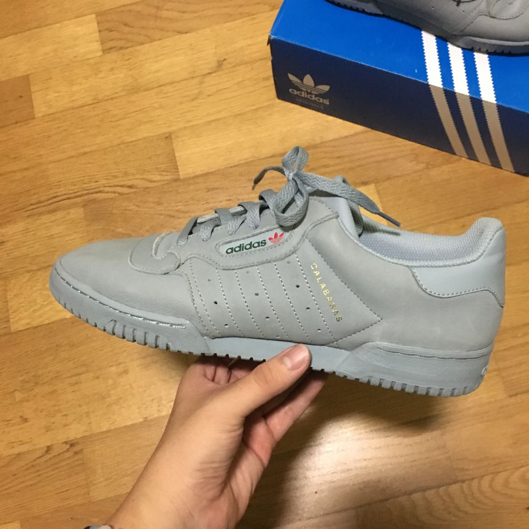 outlet store sale e1618 a80e0 Adidas Yeezy Calabasas Powerphase Grey Us10.5 Uk10, Men s Fashion ...