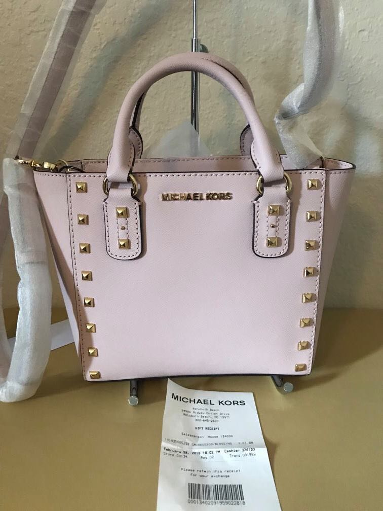 c09f6f5c4750d8 Authentic MICHAEL Kors Sandrine Crossbody Bag, Women's Fashion, Bags ...