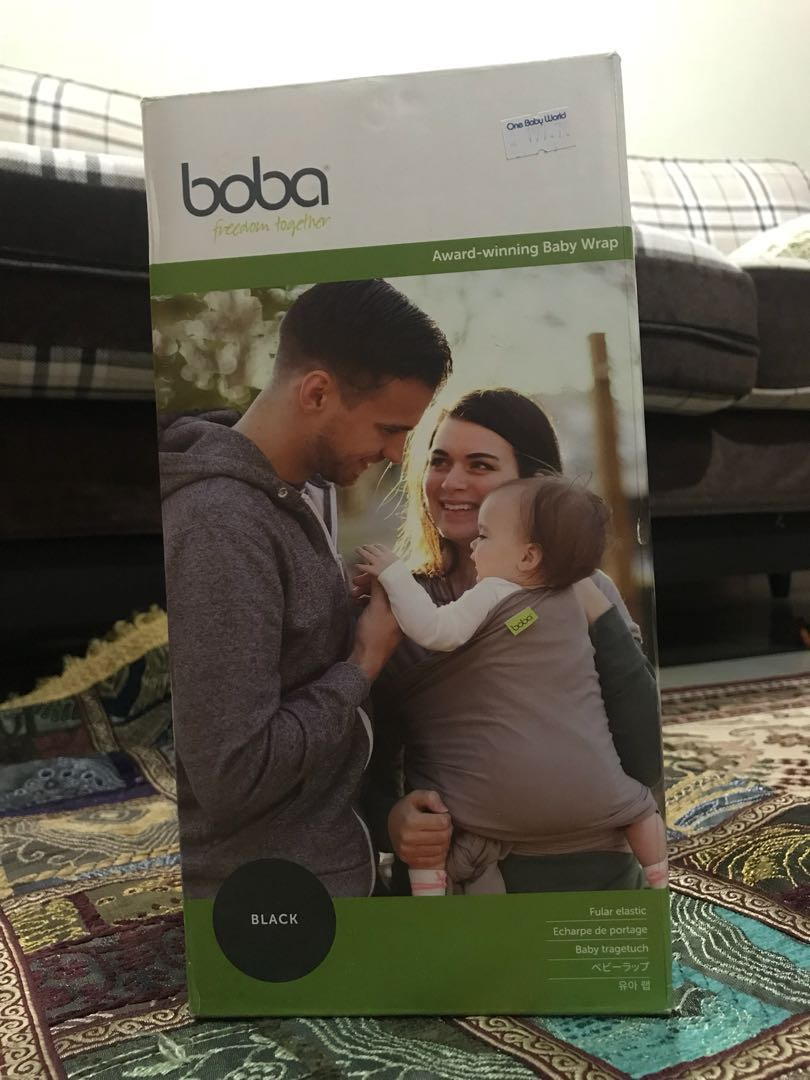 Boba Baby Wrap Black Winkuih Bayi Kanak Kanak Lain Lain Di