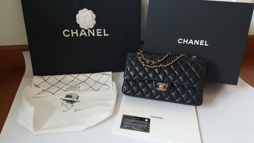 ca19ffa0f9ad Brand New Classic Chanel 2.55 Lambskin with Gold Hardware, Luxury ...