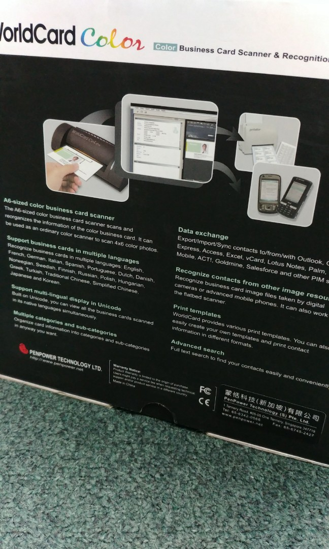 90 off business card scanner and recognition system electronics 90 off business card scanner and recognition system electronics others on carousell reheart Images