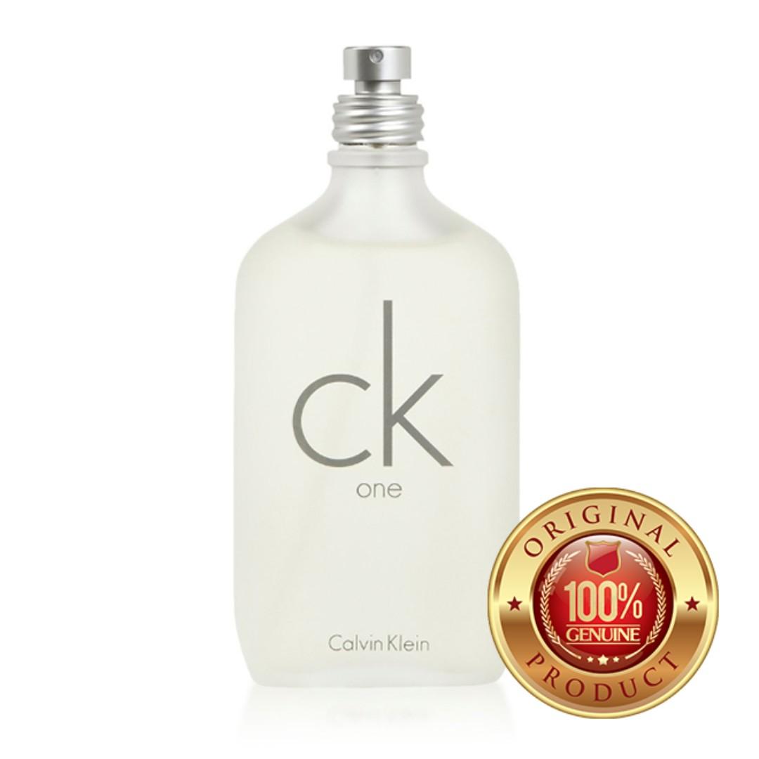 719839b23 Calvin Klein CK One  100% Original Authentic Perfume  200ml Tester ...