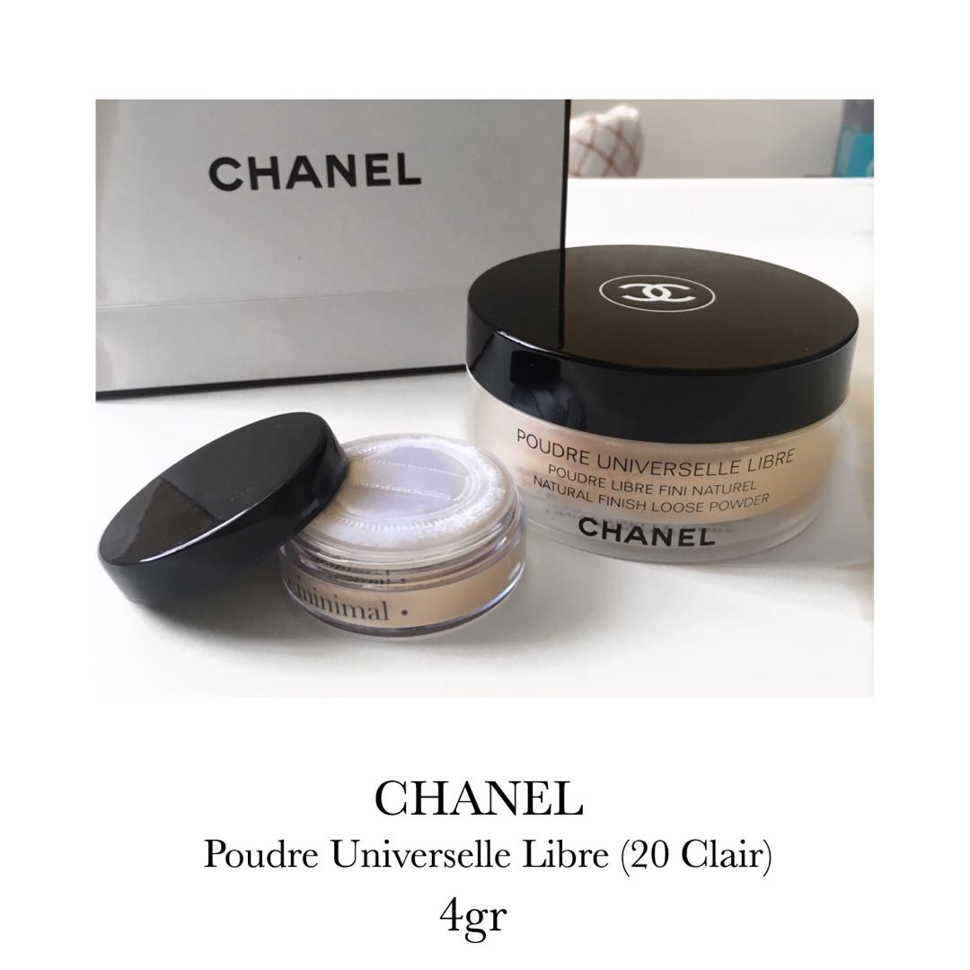 Chanel Loose Powder Trial 4gr Shade 20 Clair Health Beauty Poudre Universelle Libre Makeup On Carousell