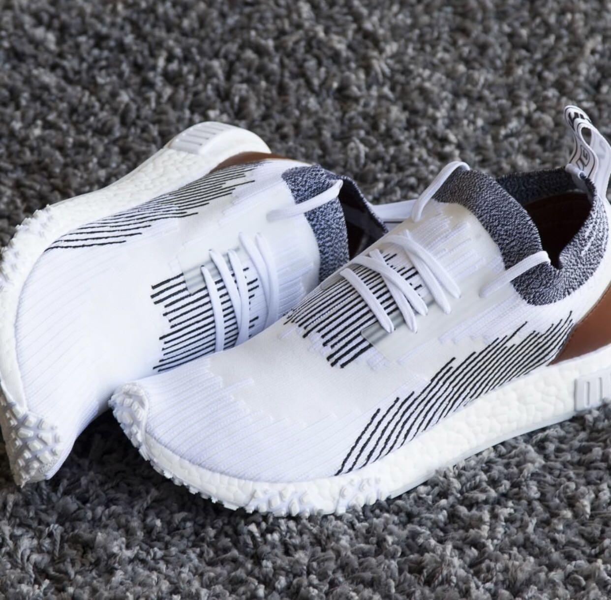 22a8f15b0d1b5 CHEAPER THAN RETAIL 🔥 Adidas NMD R2 Racer Monaco White Leather Primeknit  Shoe