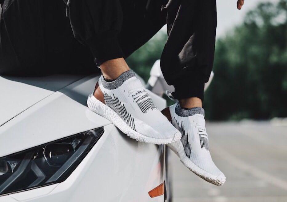 d5fa43591 CHEAPER THAN RETAIL 🔥 Adidas NMD R2 Racer Monaco White Leather Primeknit  Shoe