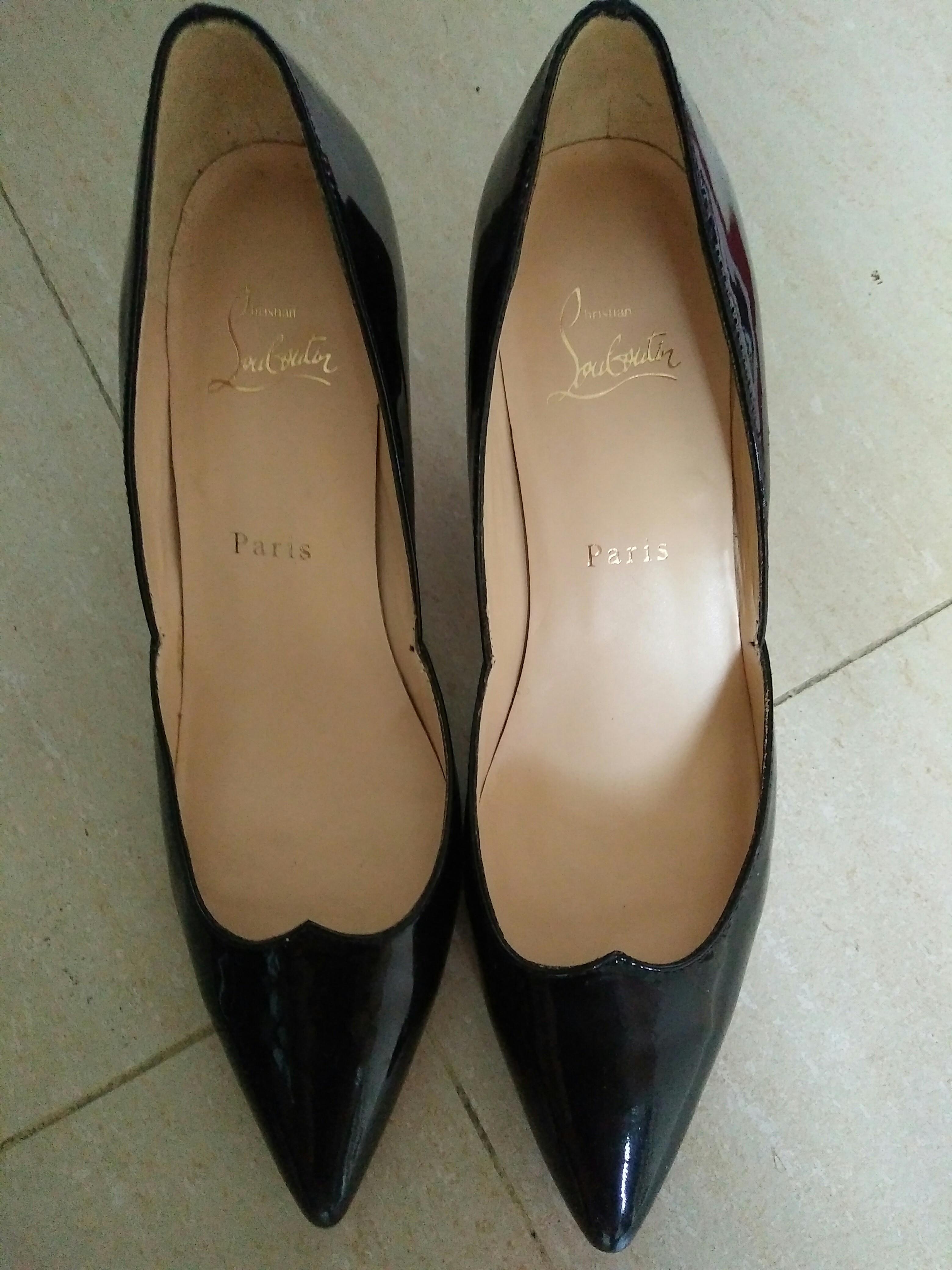 christian louboutin 1.5吋高踭鞋 38號