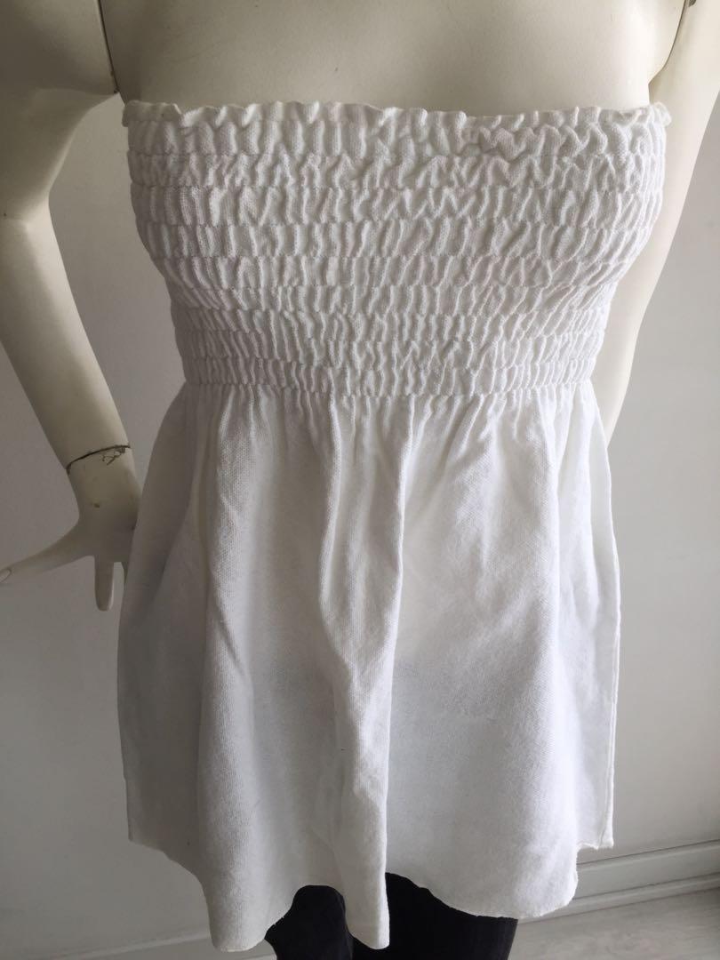 Cotton/Linen Tube Top