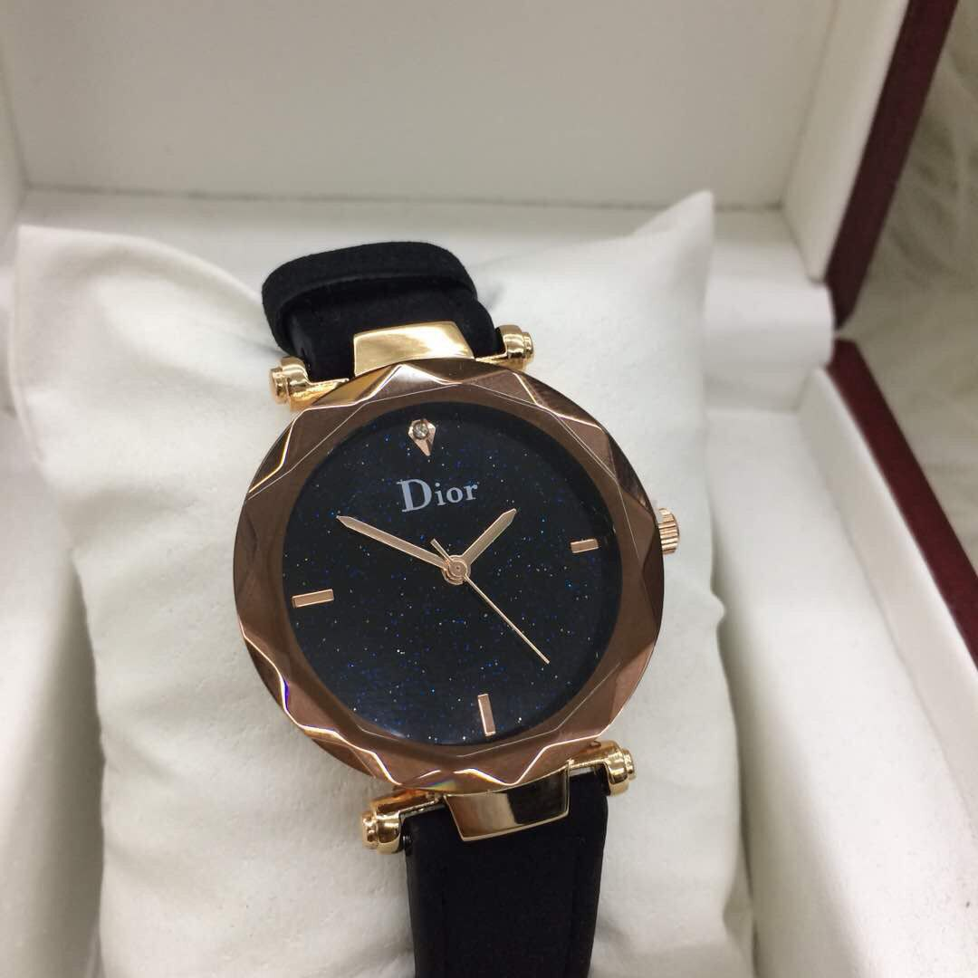 Dior Black Rose Gold Women Watch Women S Fashion Watches On Carousell