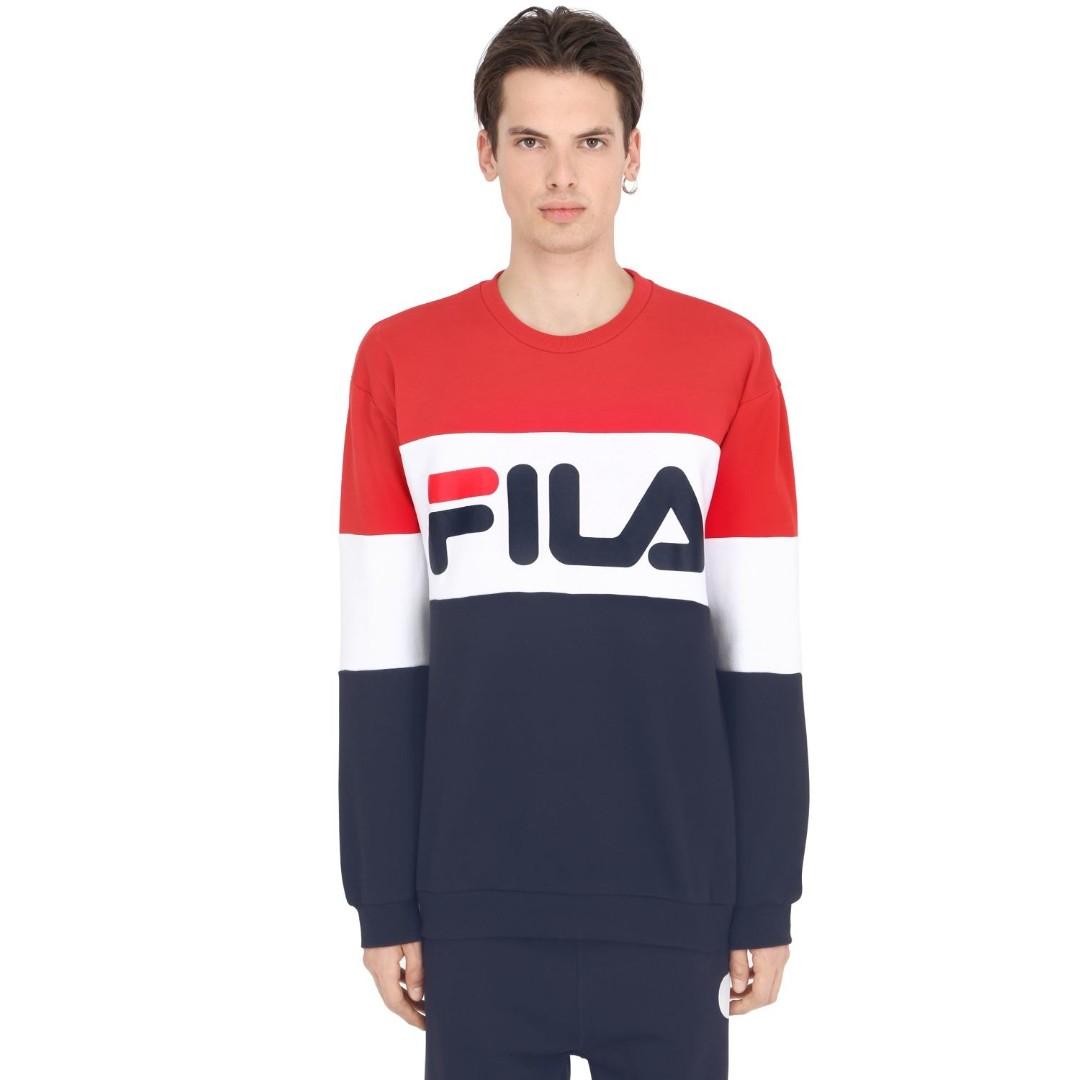 20b115d9e02 F] Cute Fila Urban Colour Block sweatshirt, Men's Fashion, Clothes ...