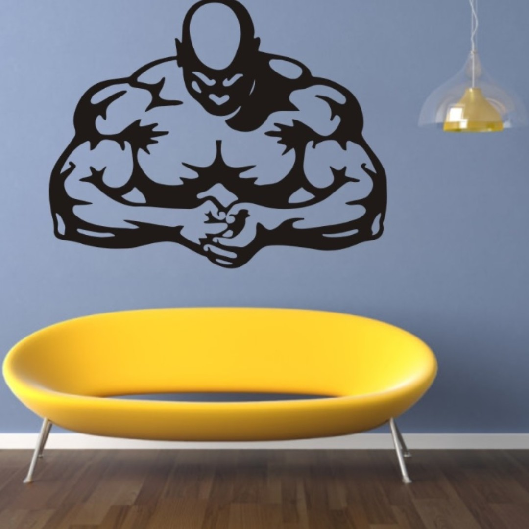 Fitness Gym Workout Motivation Wall Home Decor Decorations Wallpaper ...
