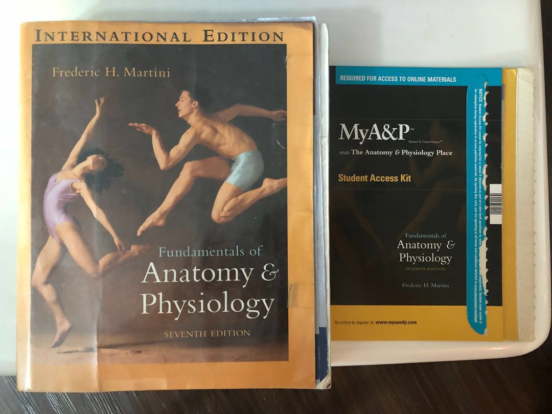 Fundamental of Anatomy &Physiology, Books & Stationery, Textbooks ...