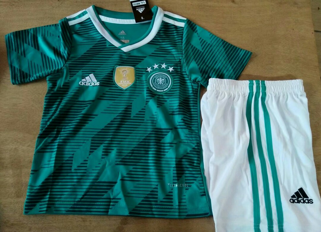 c442dacc8 Germany 2018 World Cup Away Kids Kit