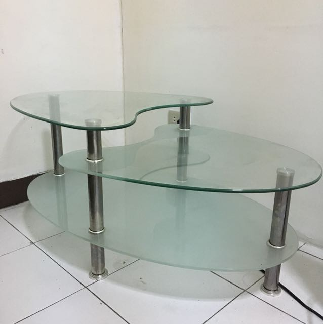 Glass Center Table Coffee Table Home Furniture On Carousell
