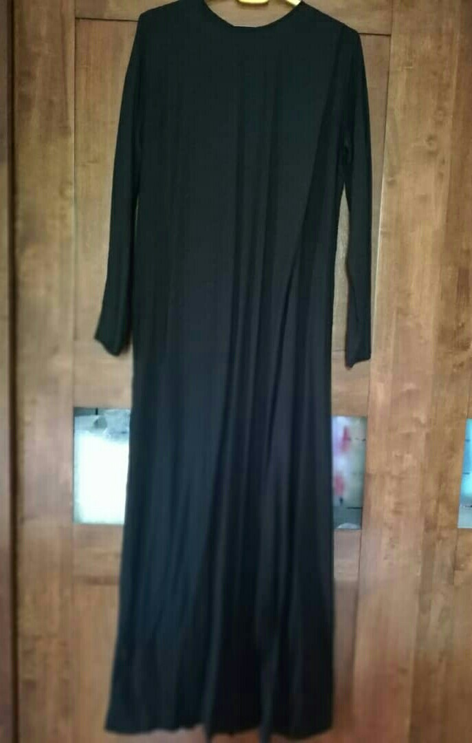 1678dd17142 HANA TAJIMA FOR UNIQLO -Women rayon drape long dress (L)