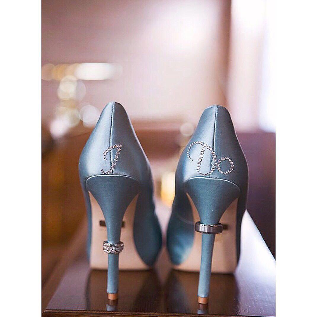I do   Me Too Bridal Wedding Shoes Stickers 919b6cfe8e03