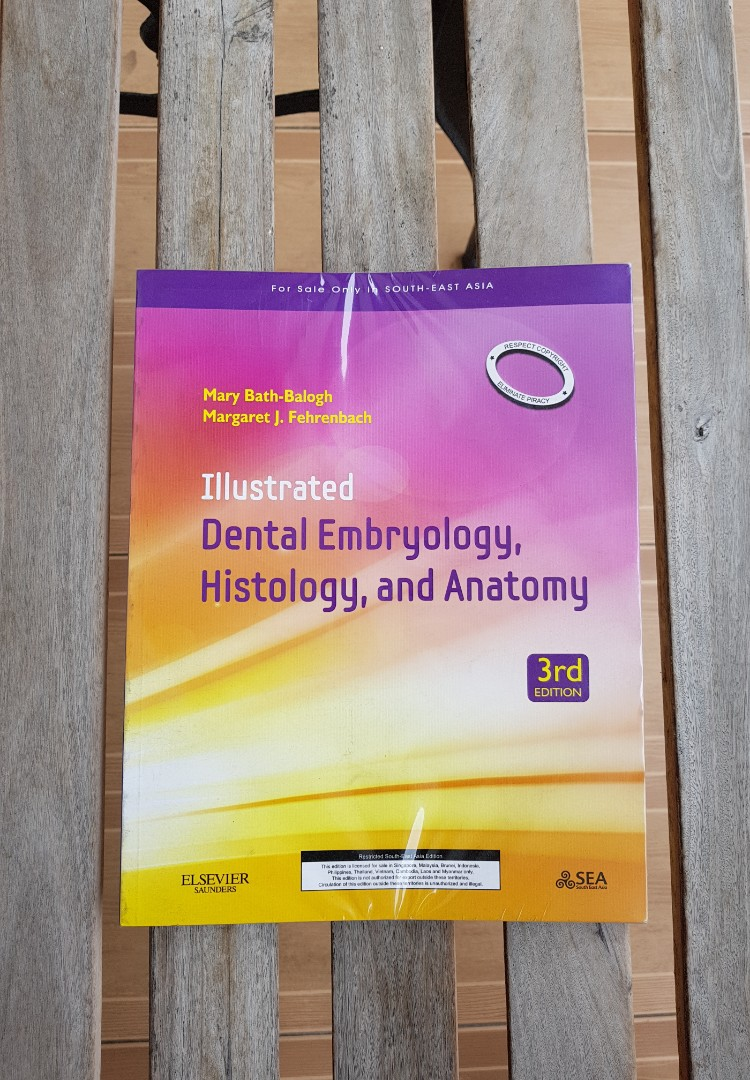 Illustrated Dental Embryology, Histology and Anatomy, Textbooks on ...