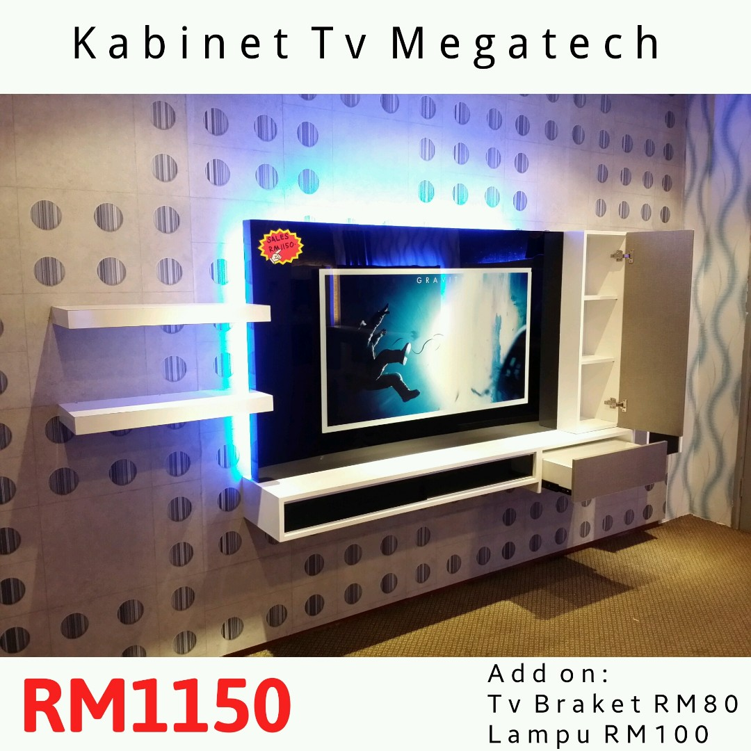 Kabinet Tv Moden Murah Home Furniture Furniture on