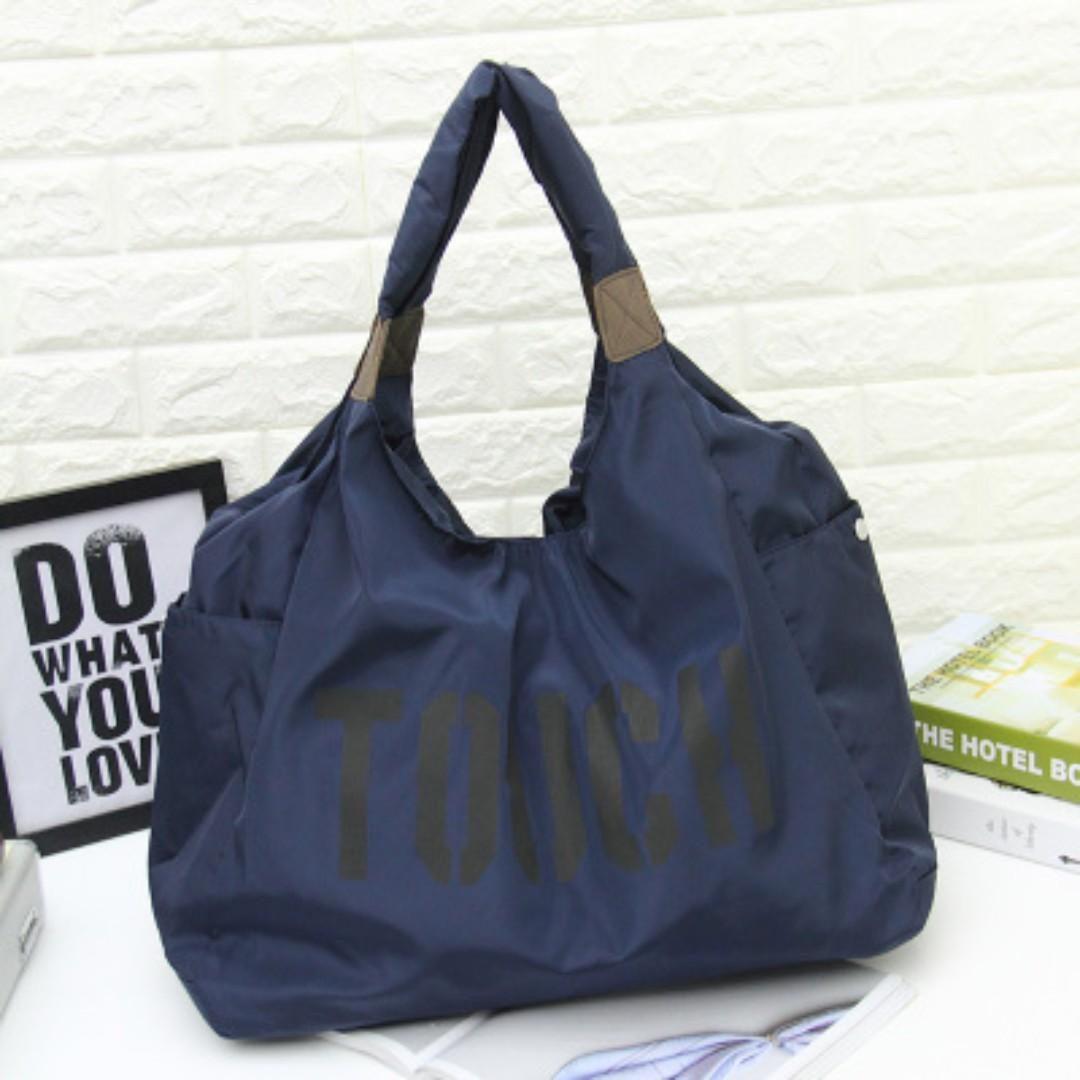 a9562dc4e8f Korean Fashion Nylon Shoulder Bags, Tibetan Blue, Women s Fashion, Bags    Wallets, Handbags on Carousell