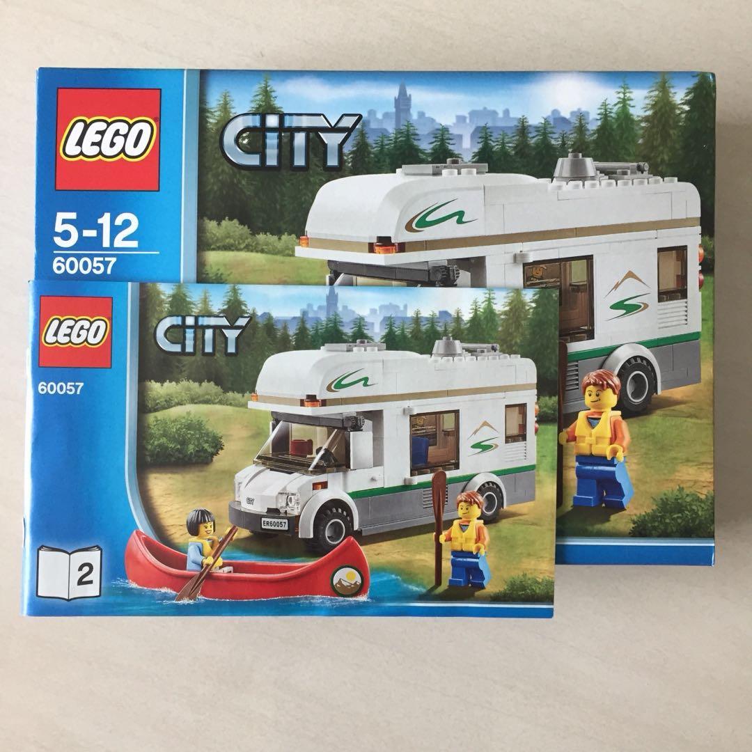 Lego 60057 Camper Van Toys Games Bricks Figurines On Carousell