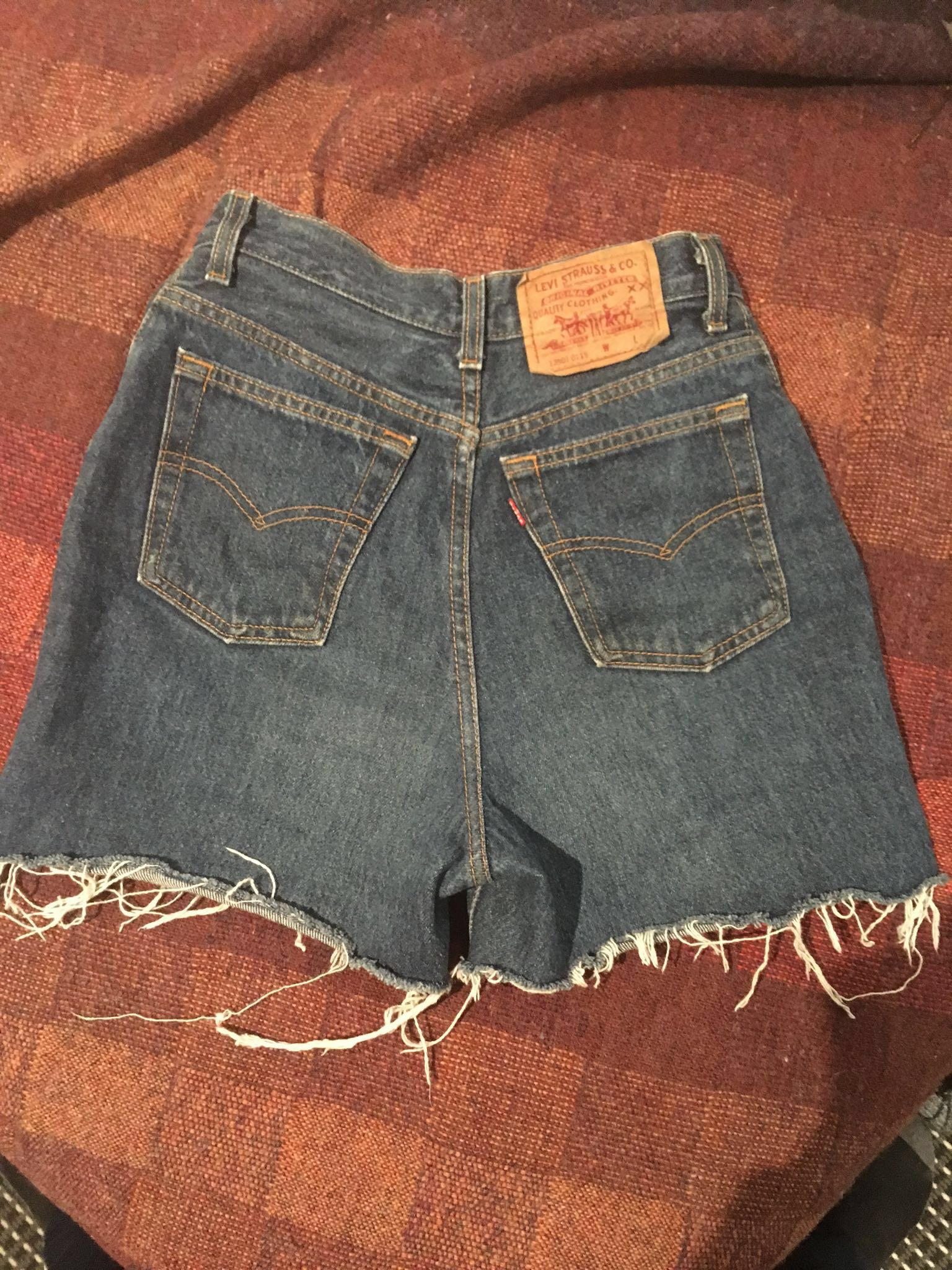 Levi denim shorts
