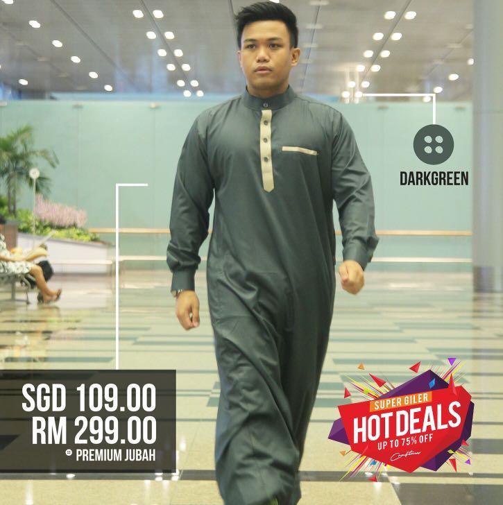 Men Premium Jubah Men S Fashion Clothes Tops On Carousell