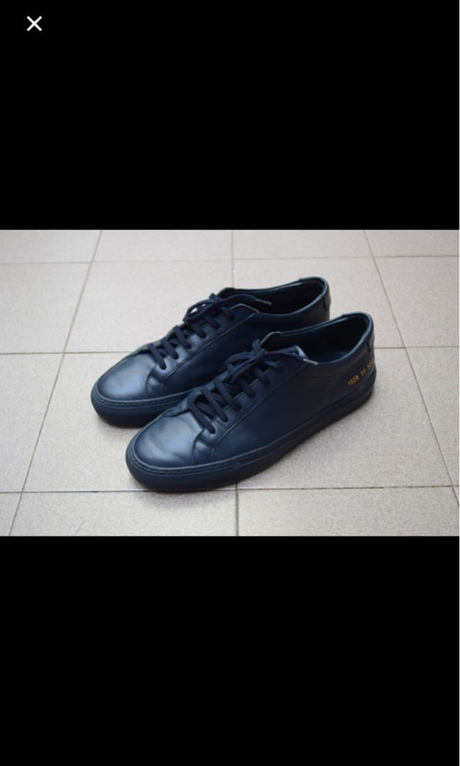 dade01010af63 Navy blue common projects