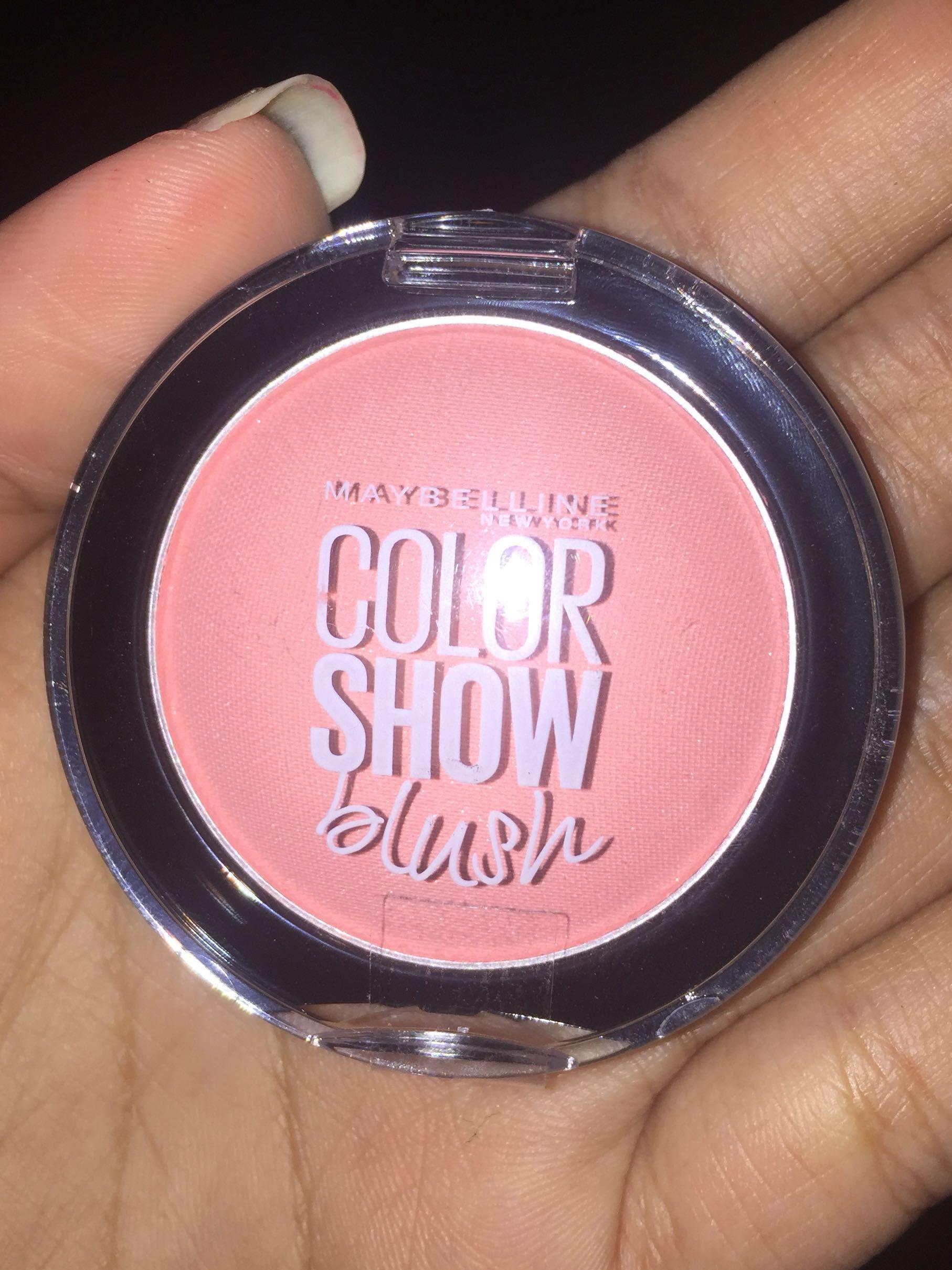 New Maybelline Color Show Blush Kesehatan Kecantikan Rias Wajah On Di Carousell