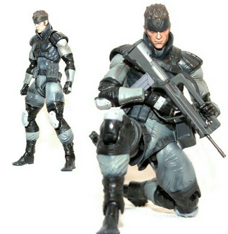 Play Arts Kai Metal Gear Solid Snake And Ninja Toys Games