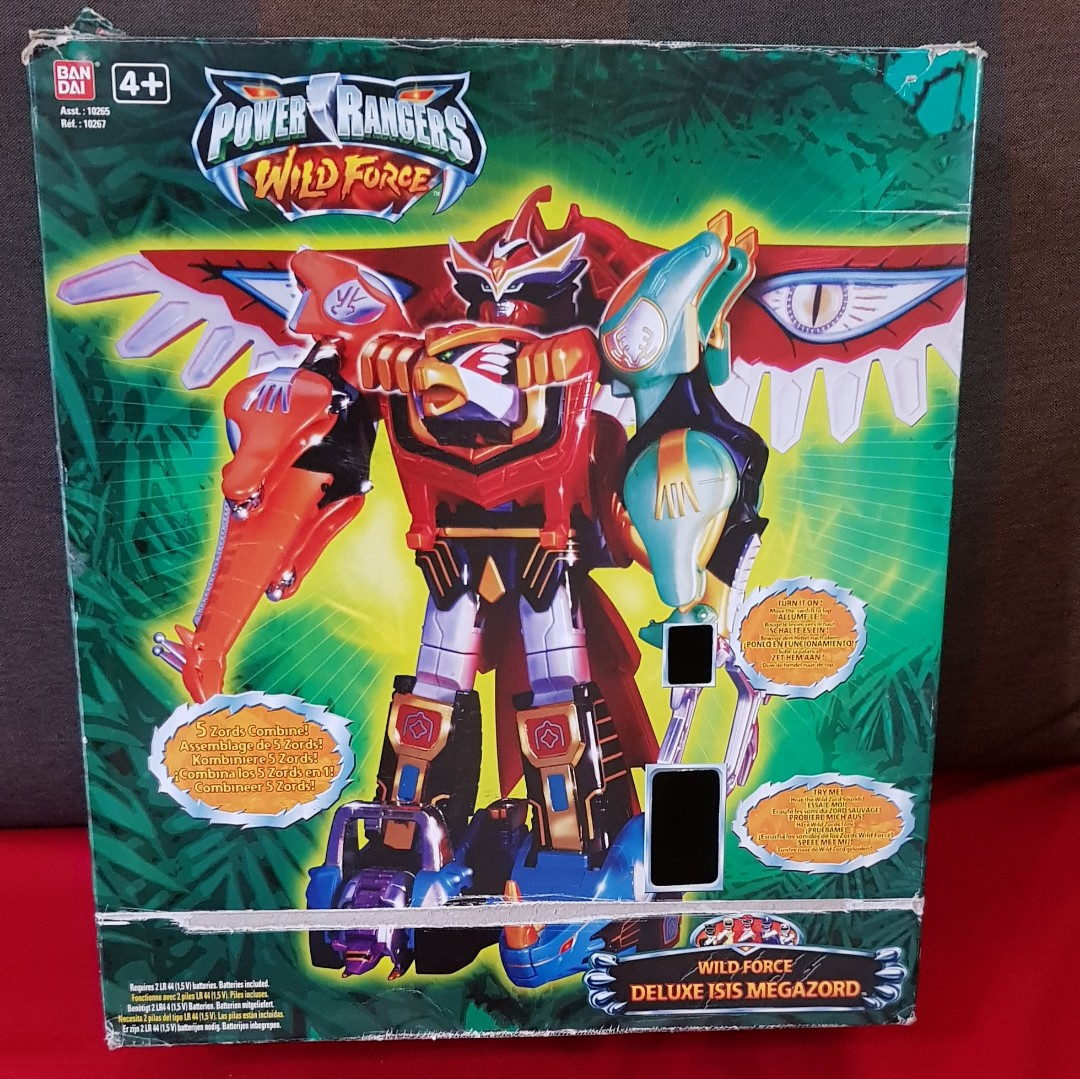 Power Rangers Wild Force Deluxe Isis Megazord Toys Games