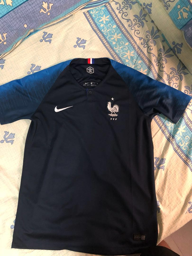sale retailer 87486 c69ba [PRE ORDER] FIFA WORLD CUP 2018 France Home Kit