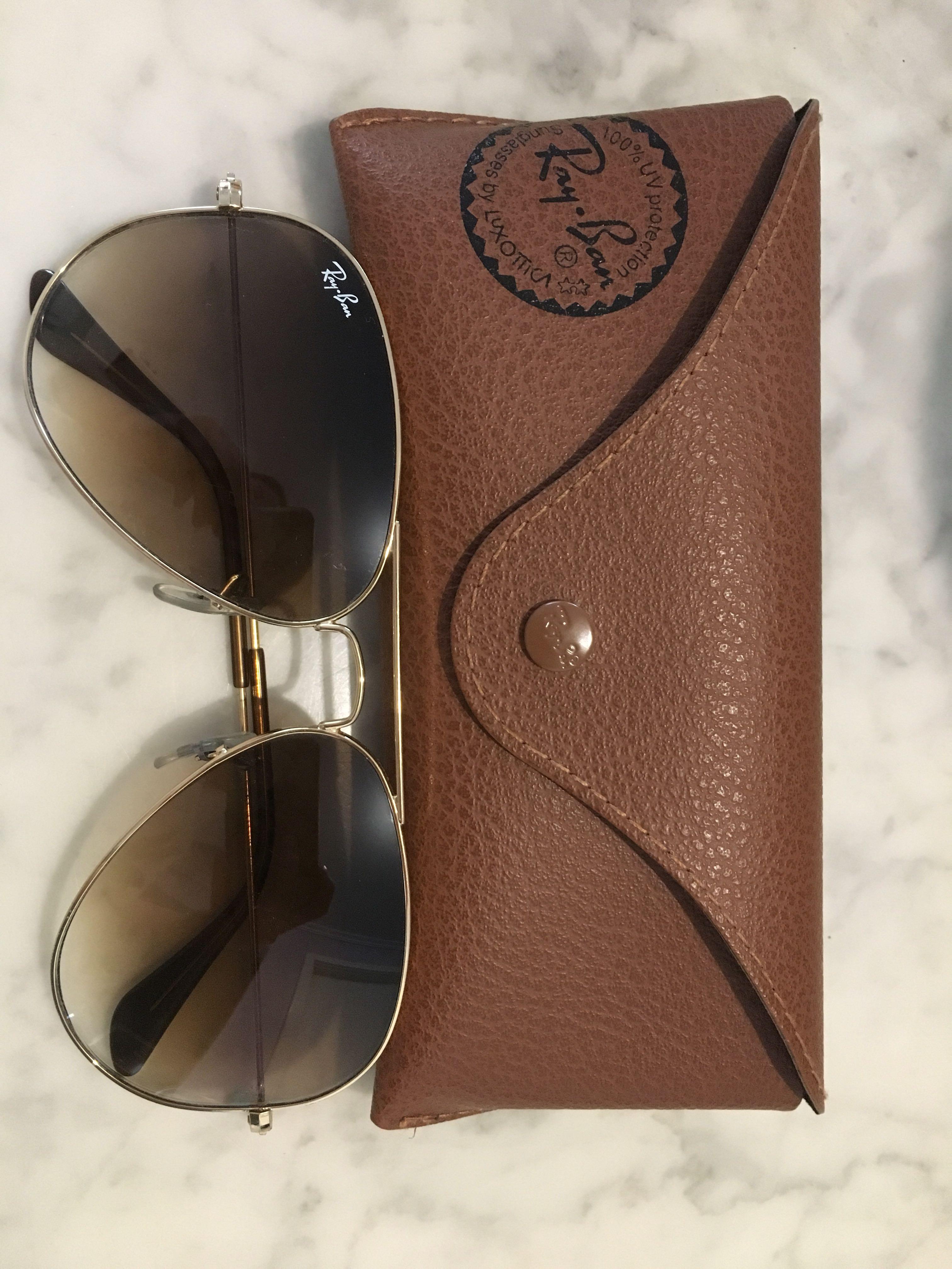 Rayban gradient sunglasses