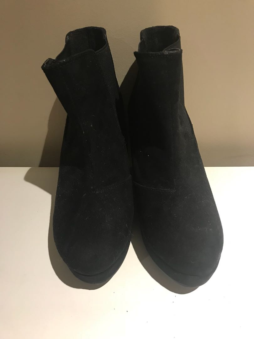 River island boots size 35