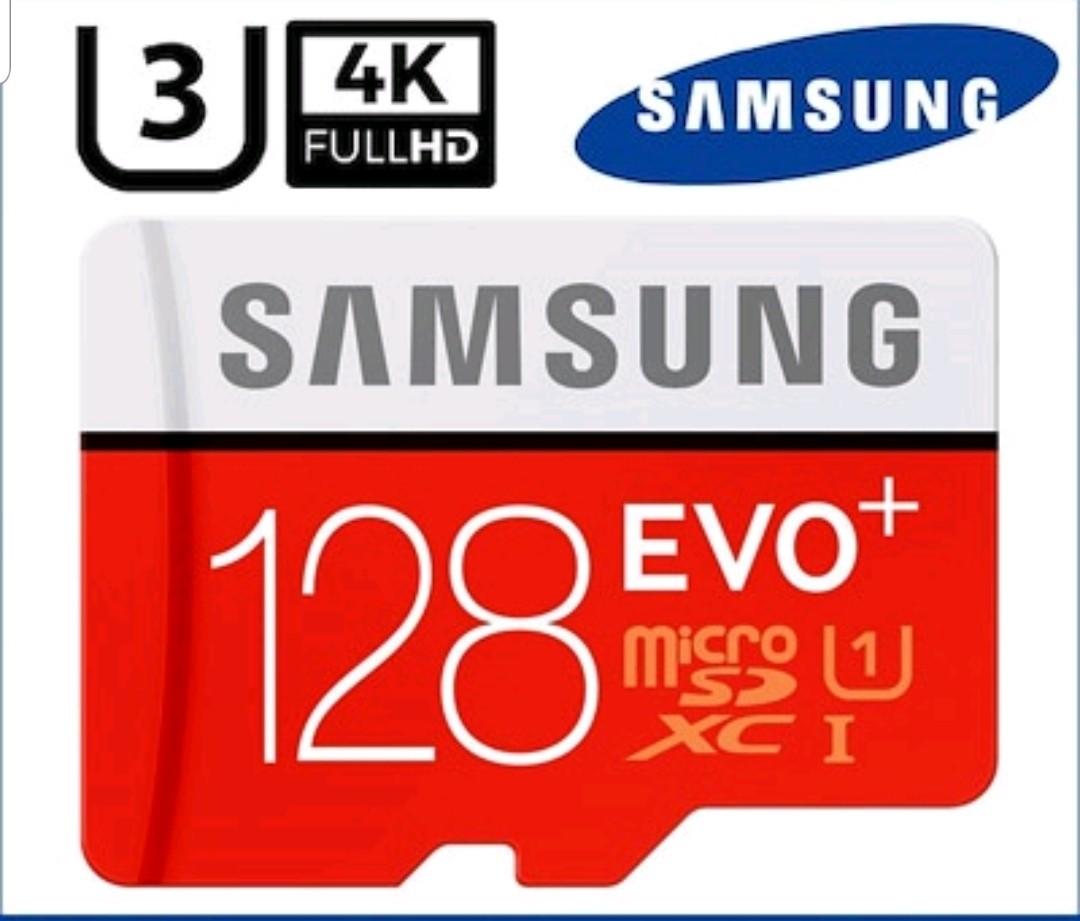 Samsung Evo Plus 128gb Sd Card Micro Sdxc Class 10 Mobiles 128 Gb Photo