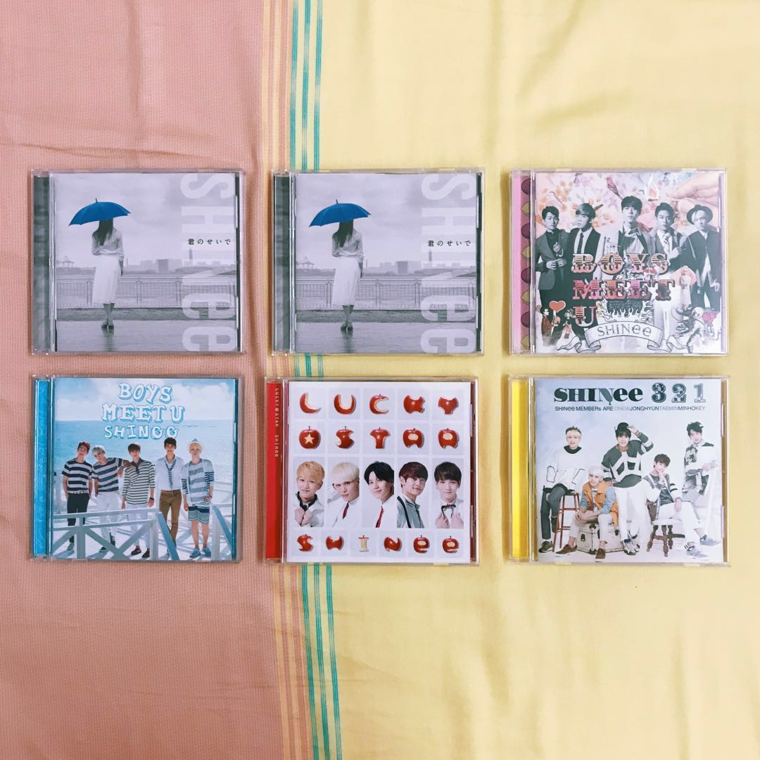 SHINee ALBUM CLEARANCE