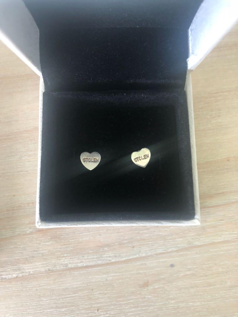 Stolen girlfriends club earrings