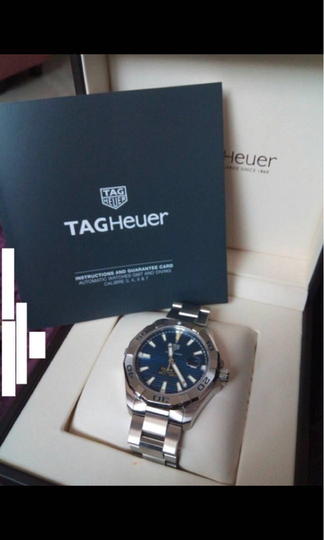Tag Heuer Aquaracer Calibre 5 Best Price On Carousell On