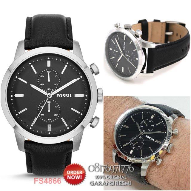 FOSSIL TOWNSMAN CHRONOGRAPH Leather Strap Watch and Bracelet Set Source · Home Men s Fashion Watches