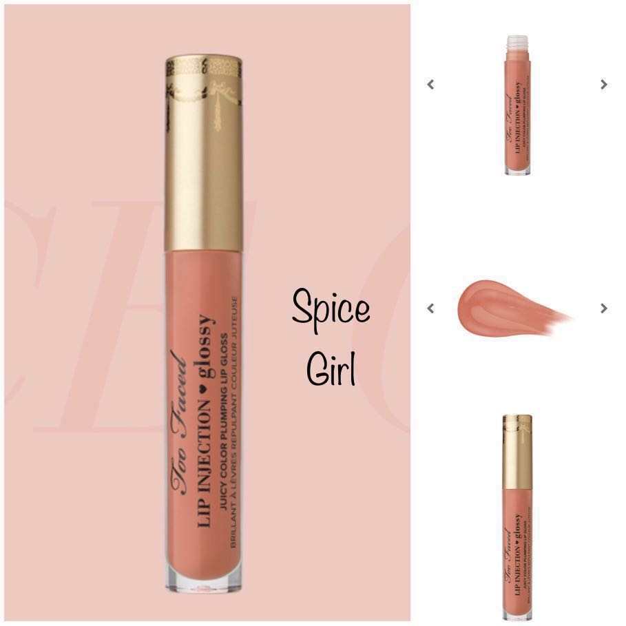 TOO FACED Lip Injection Glossy in Spice Girl, Health