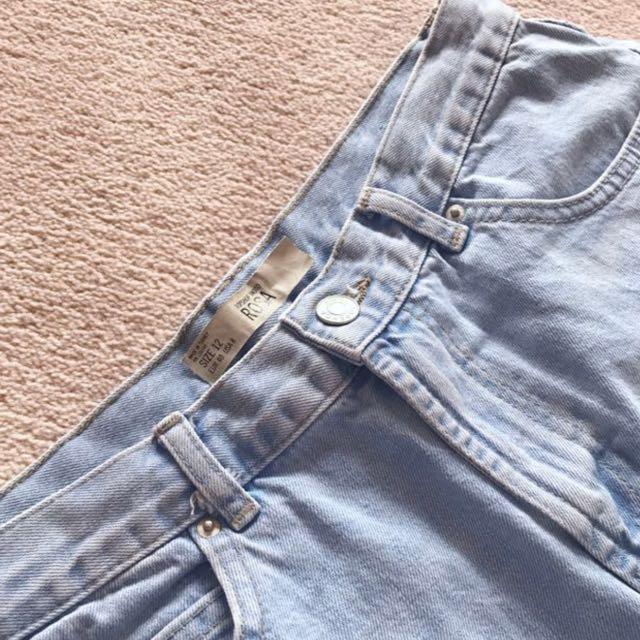 Topshop Rosa Denim Shorts