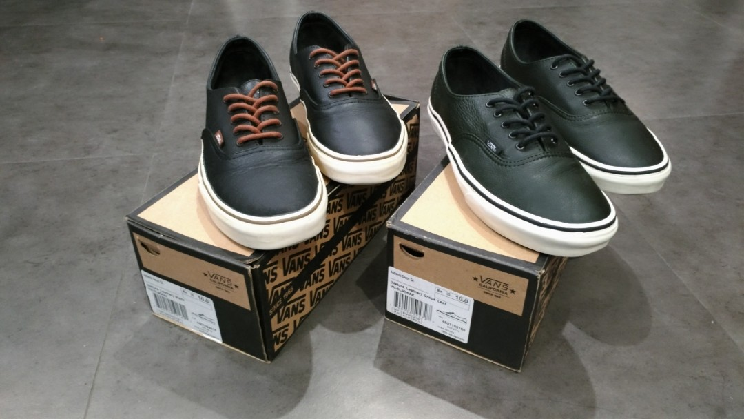 83ef359b5f Vans Authentic Decon CA (Sold as set only)