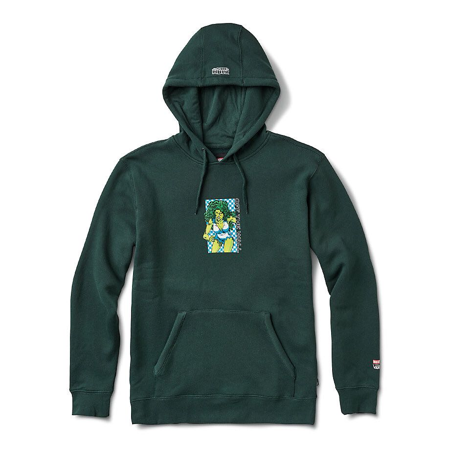 Vans X Marvel She Hulk Pullover Hoodie, Men's Fashion, Clothes, Tops ...