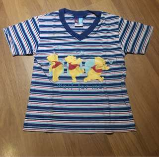 Disney Pooh kid short sleeves T-Shirt