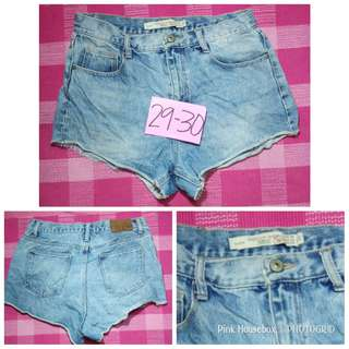 Zara Dolphin Denim Short